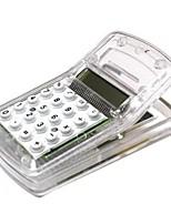 multi-fonction mini-calculatrice avec clip