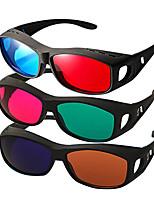 reedoon vermelho lado azul por miopia lado óculos 3D para computador televisão móvel