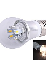 ZHISHUNJIA E26/E27 5 W 10 SMD 5730 450lm LM Blue/Cool White Decorative Globe Bulbs AC 85-265 V