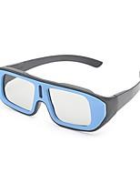 m&k luz polarizada modelada retarder engrossar óculos 3D de childern para 3D tv e cinema