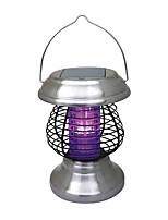 Solaire extérieure 4 LED de yard de jardin Zapper contre les insectes ravageurs tueur de moustique Lampe