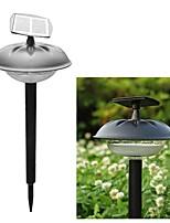 20-LED Plastic Solar Modern Lawn Light Garden Pathway stake lamp