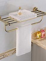 Prateleira de Banheiro,Contemporâneo Ti-PVD De Parede