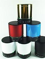 S08 doubles Phares Mini haut-parleur Bluetooth avec carte TF en charge (couleurs assorties)