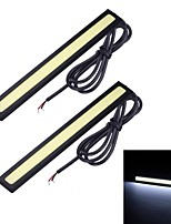 Merdia 6W 1500LM 14SMD LED COB White Light Car Strip Light (14CM / 12V)