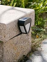 2-LED Outdoor LED Solar Fence Light Wall Light Landscape Pinup Path Garden Lamp