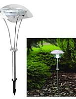 3-LED de energía solar al aire libre blanca del paisaje del jardín Camino luz de la noche