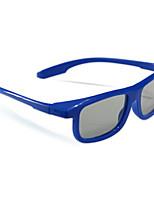 le-vision polarisée côté de la lumière par latérales lunettes 3D pour la télévision