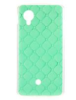 Для Кейс для LG С узором Кейс для Задняя крышка Кейс для Геометрический рисунок Мягкий TPU LG LG Nexus 5