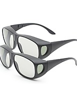 M&K General Polarized Light Patterned Retarder Thicken 3D Glasses for TV (2Pcs)