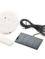 Lampe solaire d'inondation de commande à distance avec 8 système d'éclairage led