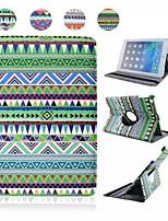 Padrões de vento Nacional PU Leather Case Full Body com suporte e capacitância Pen para iPad Air (cores sortidas)