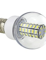 7W E26/E27 LED Corn Lights G60 56 SMD 5730 700 lm Cool White AC 220-240 V