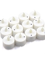12pcs Color Changing Sound Control LED Battery Operated Tea Lights for Wendding Party