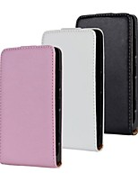 Solid Color Pattern Open Up and Down PU Leather Full Body Case for Nokia Lumia 820 (Optional Colors)
