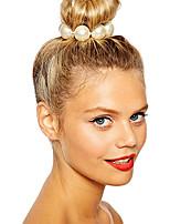 shixin® clássicos branco pérola europeu elásticas laços de cabelo (1 pc)