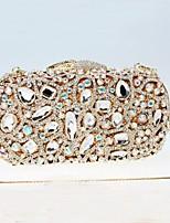 Women's  Pillow Design Crystal Evening Dinner Hand Purse