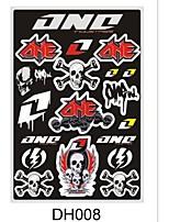 Hot Selling Motorcycle Stickers Decals for Suzuki Dirt Pit Pocket Bike ATV Racing Motorbike Car