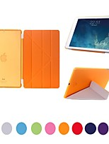 Natusun™ Removable Multi-fold PU Leather Smart Cover Ultra-Thin Hard Plastic Case for iPad Mini 3(Assorted Colors)