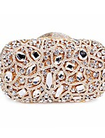Women's  Pillow Design Crystal Evening Party Dress Shoulder Chain Bag