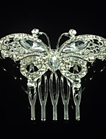 Women's Butterfly Alloy Silvering