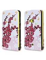 For Nokia Case Flip Case Full Body Case Tree Hard PU Leather Nokia Nokia Lumia 625