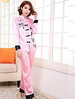 Pajama Donna Acrilico/Pizzo/Rayon Medio spessore