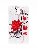 Для Кейс для Nokia С узором Кейс для Задняя крышка Кейс для Цветы Твердый PC Nokia Nokia Lumia 1320