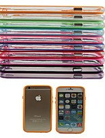 Protective TPU Bumper Frame Case for iPhone 6 (Assorted Color)