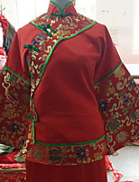chinesische traditionelle Hochzeit Kostüm