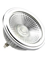 10W G53 LED-spotlampen AR111 1 COB 1000-1100LM lm Warm wit DC 12 V