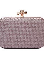 L.WEST® Women's Fashion Knit Lines Evening Bag