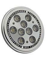 9W G53 LED-spotlampen AR111 9 Krachtige LED 990LM lm Koel wit AC 85-265 V