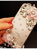 elegante, decorado com camellia diamante para iphone 6 (cores sortidas)