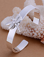 High quality Dragonfly opening Bracelet Vintage/Cute/Party/Work/Casual Silver Plated Cuff Bracelet