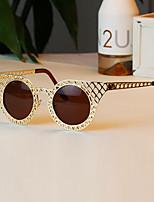 vrouwen 's 100% UV400 Rond Zonnebrillen