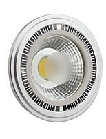 10W GU10 Spot LED AR111 1 COB 1000-1100LM lm Blanc Froid AC 85-265 V