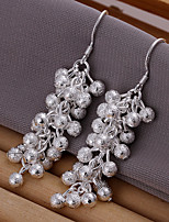 Fashionable Plating Silver Earrings