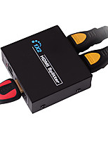 HDMI V1.4 1X2 HDMI Splitter(1 in 2 out)Support 3D 1080P