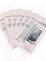 6 PC mate protector de pantalla frente anti-huella digital para el iPhone 6s / 6