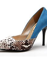 Women's Shoes Suede Stiletto Heel Heels Pumps/Heels Wedding/Party & Evening/Dress Blue