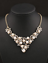 NEW Style Women's Eye-Catching Pearl  Necklace Wedding/Party  1PCS
