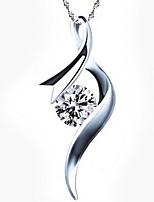 Collana Per donna Anniversario/Matrimonio/Fidanzamento/Compleanno/Regalo/Festa/Quotidiano/Occasioni speciali/Casual/Formale Strass