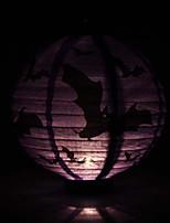 les chauves-souris violet motif lanterne holloween décoration (ampoule exclu)