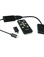 MHL Micro USB to HDMI VGA HDTV Adapter with Remote Control Samsung Galaxy S2 S3 S4 Tab Tablet 3