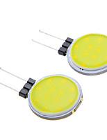 g4 2w épi 160lm 6000k lumière blanche ampoule led spot (DC12V 2pcs)