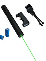 lt-08851 pointeur laser vert (5mW, 532nm, 2x16340, couleurs assorties)