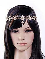 europa pequeña perla bandas para la cabeza de aleación de diamantes de flores
