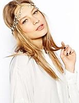 flor da moda cabeça coroa coroa headband branco cristal cadeia de cabeça jóia do cabelo