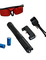 LT-0887 Eye-Protect Green Laser Pointer (1MW, 532nm, 2x16340, Assorted Colors)